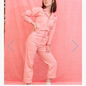 Big bud press flamingo pink jumpsuit